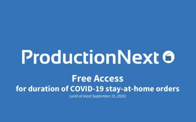 Production Next Access is Free During COVID-19 Sheltering