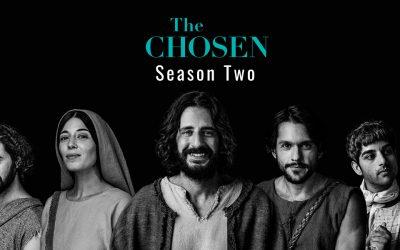 Season 2 Premiere of the Chosen is tonight!